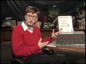 Bill Gates Altair Basic